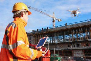 نظارت بر پیشرفت کار از مزیت های استفاده از هواپیماهای بدون سرنشین در ساختمان