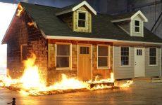پوشش ضد حریق و بتن مصالح کاربردی برای محافظت از خانه در برابر آتش